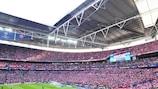 I tifosi del Bayern a Wembley