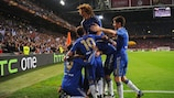 Chelsea were the victors in Amsterdam in May