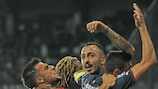 Kostas Mitroglou made a bit of history against Anderlecht
