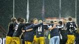 Salzburg jubelt über den fünften Sieg in der Gruppe C