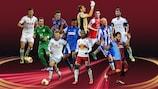 El equipo de la fase de grupos de la UEFA Europa League