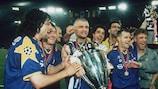 La Juventus festeggia la UEFA Champions League 1995/96