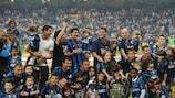 Inter won the 2009/10 UEFA Champions League