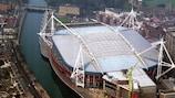 Im Nationalstadion von Wales wird 2017 das Finale der UEFA Champions League stattfinden