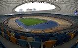 Im NSK Olimpiyskyi von Kiew wird 2018 das Finale der UEFA Champions League ausgetragen