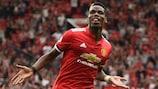 Paul Pogba e o Manchester United estão de regresso à fase de grupos da UEFA Champions League