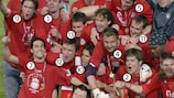 Snap shot: Gerrard and Liverpool's Istanbul heroes