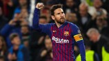 Classifica marcatori di Champions League: Messi in fuga