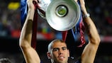Víctor Valdés won the UEFA Champions League with Barcelona in 2006, 2009 and 2011