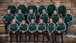 I 18 arbitri di UEFA EURO 2016 durante il recente corso invernale UEFA a Cipro