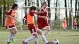Women's grassroots football