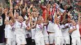 Hegerberg treble keeps Lyon on top