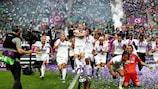 O Lyon vai tentar o quinto título europeu seguido