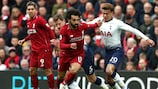 Liverpool defeated Tottenham 2-1 in their most recent meeting in March