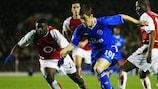 Chelsea setzte sich 2004 gegen Arsenal durch