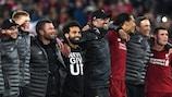 Mohamed Salah, Jürgen Klopp & Virgil Van Dijk fêtent la qualification pour la finale 2019