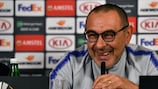 Maurizio Sarri is taking charge of Juventus after a season with Chelsea