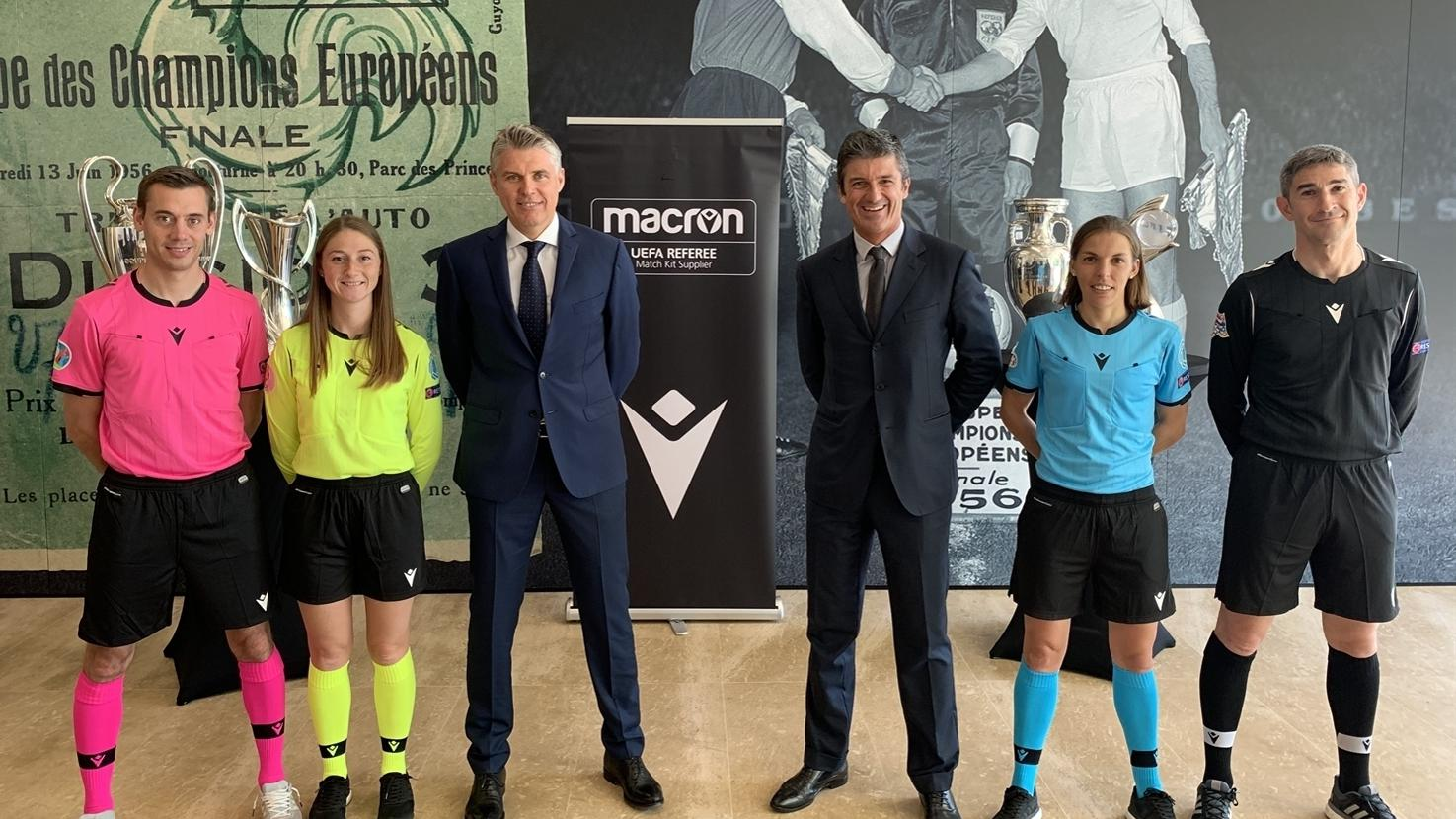 Macron Signs Three Year Deal To Become Official Uefa Referee Kit Supplier Inside Uefa Uefa Com