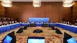 UEFA-Exekutivkomiteesitzung in Baku.
