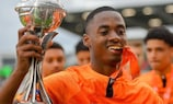 Melayro Bogarde of the Netherlands is among the selected XI