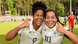 Shekiera Martinez und Ivana Fuso stehen im Team des Turniers