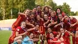 España celebra su título