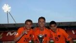 Голландцы выиграли чемпионат Европы среди юношей до 17 лет
