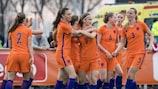 The Netherlands have got off to a winning start in the Czech Republic