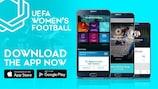 NEW: UEFA launches women's football app