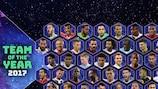 Jetzt Dein UEFA.com Team des Jahres aufstellen!