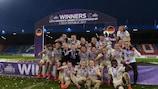 Guarda le sei vittorie record in finale della Germania a #WU17EURO