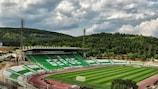 The Gradski Stadium in Stara Zagora