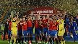 Spain secure record third U17 EURO title