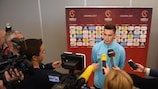 Media interest was high during Croatia's pre-tournament press conference on Tuesday