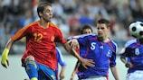 Espanha e França já se defrontaram por duas vezes em fases finais do EURO Sub-17, a última delas em 2008