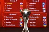 Italia nel Gruppo A con Croazia, Spagna e Turchia
