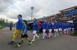 Beaten on Wednesday, the Belarusian hosts will go again when England visit Slutsk on Saturday