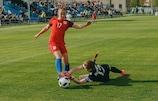 В ворота сборной Беларуси влетело 12 мячей
