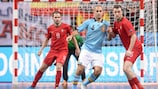 Futsal is an all action game growing all over Europe