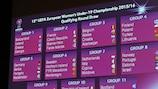 O resultado do sorteio da fase de qualificação da edição 2015/16 do Campeonato da Europa Feminino de Sub-19 da UEFA