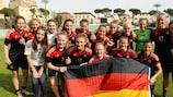 L'Allemagne a conservé le trophée lors de la dernière édition