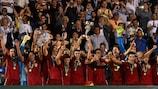 Spanien feiert den Titel im griechischen Katerini