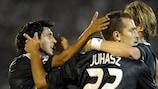 Roland Juhász scored Anderlecht's equaliser