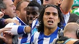 Falcao has agreed to stay at Porto until 2015