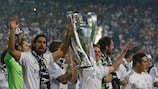 Real Madrid hope to become the first successful defending champions