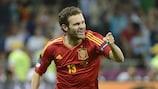 Juan Mata joined a select list alongside team-mate Fernando Torres