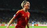 Fernando Torres festeggia il gol