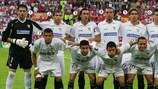 Die siegreiche Sevilla-Elf von 2006
