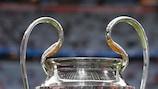 Le trophée de l'UEFA Champions League