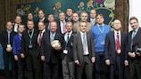 Участники варшавской встречи врачей, состоявшейся в марте